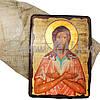 Деревянная икона Святой преподобный Алексий, человек Божий, 17х23 см (814-2042), фото 2