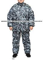 """Теплый зимний костюм из непромокаемой, дышащей ткани """"Белый камыш"""" размер 60-62"""