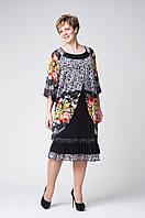 Платья большего размера  Ольга, фабрика производитель женской одежды