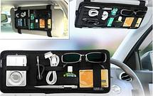 Органайзер автомобильный на козырек Organizer Vehicle Storage Plate  (Арт. 3258), фото 3