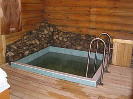 Бассейн-купель для бани 3 куб.м.