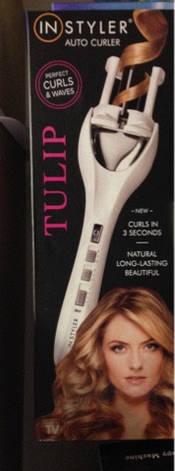 Стайлер для укладки волос Instyler Tulip Auto Curler код 4579 АКБ, фото 2