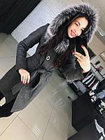 """Зимнее женское  пальто  """"Алиса"""""""