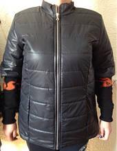 Куртка батал с коротким рукавом осень/весна Jenny. Тренд сезона. код 275