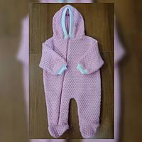 Вязаный боди для новорожденного