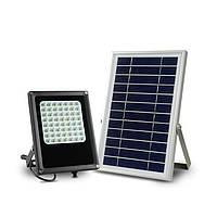 Прожектор с солнечной батареей и датчиком освещенности, 56 LED, фото 1