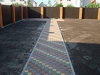 Вибропресованная тротуарная плитка
