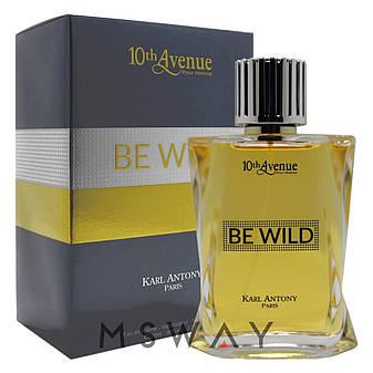 10th Avenue - Be Wild EDT 100ml /версия Azzaro Wanted (туалетная вода) мужская, фото 2