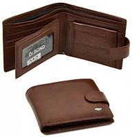 Мужской кожаный кошелек портмоне Dr.Bond натуральная кожа