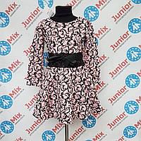 Модное детское нарядное платье для девочек  оптом PINK