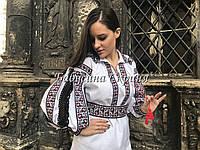 Заготівля жіночої сорочки для вишивки нитками/бісером БС-66, фото 1