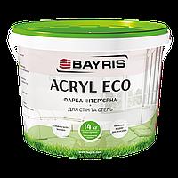 """Краска интерьерная для стен и потолка """"ACRYL ECO"""" Байрис 1,4 кг"""