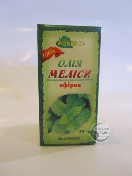 Эфирное масло «Мелиссы» 10мл- устраняет бессонницу, депрессию, зуд после укусов насекомых