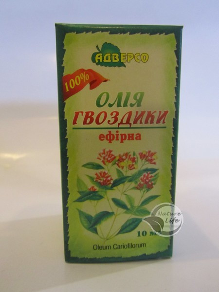 Эфирное масло «Гвоздики» 10мл- при астении, поносе, брожении в желудке, паразитах