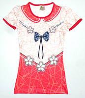 Платье ' Бантик' для девочки 8,9,10,11,12 лет