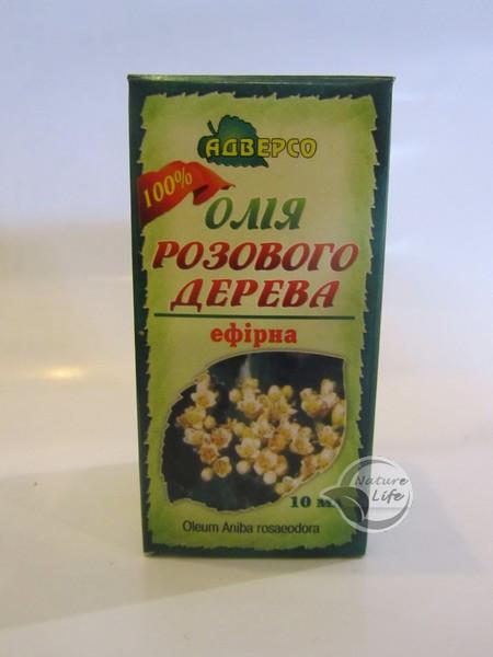 Эфирное масло Розового дерева 10мл- при экземе, дерматитах, ожогах