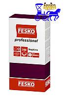 Салфетки Fesko Professional двухслойные 250 листов бордо