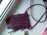 "Женский клатч ""Травка Purple"", фото 1"