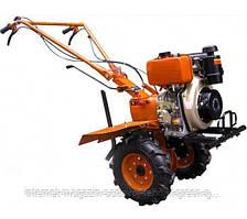 Мотоблок дизельный Tata YX1050E (KM178F, 6 л. с., с электростартером, фреза в к-те)