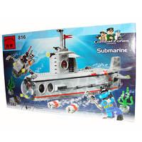 Конструктор подводная лодка субмарина BRICK код: 816