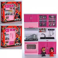 """Кухня.Игровой набор мебели для кукол, кухня """"Леди Баг"""""""