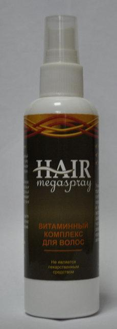 Hair Mega Spray - витаминный комплекс для волос (Хаир Мега Спрей), 100 мл