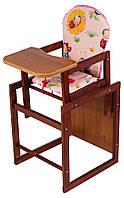 Детский стульчик для кормления 621422 Natalka, розовый