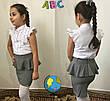 Подростковая юбка для школы  баска  Код 503-1 MM, фото 2