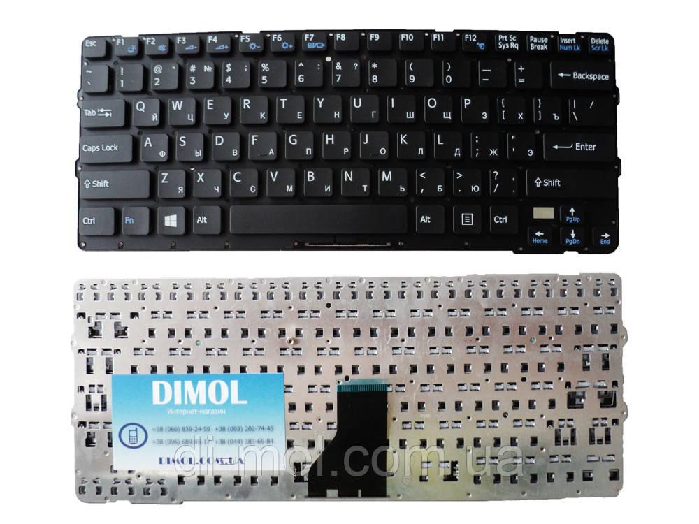 Оригинальная клавиатура для ноутбука Sony Vaio SVE14 Black