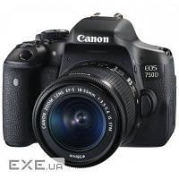 Цифровой фотоаппарат Canon EOS 750D 18-55 DC III KIT (0592C112AA) (0592C112)
