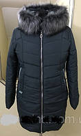 Женская куртка на холлофайбере Даша (батал)