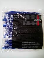 Слюноотсосы TopFlex Plus (Италия) фиолетовые