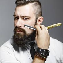 Мужская косметика для бритья и ухода за бородой