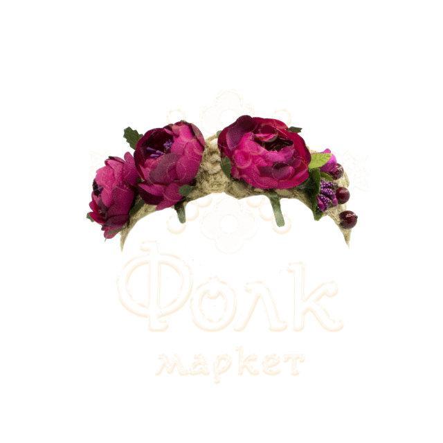 Начельник для девочки цветочный