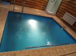 Бассейн-купель для бани 6 куб.м.