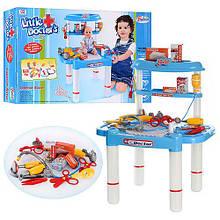 Игровой медицинский набор со столиком в коробке, 62-39-9см