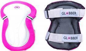 Комплект защитный для самоката подростковый Globber розовый 25-50кг (XS) 541-110