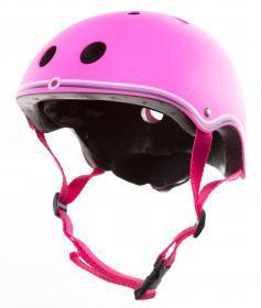 Защитный шлем для самоката детский Globber розовый 51-54см (XS) 500-110