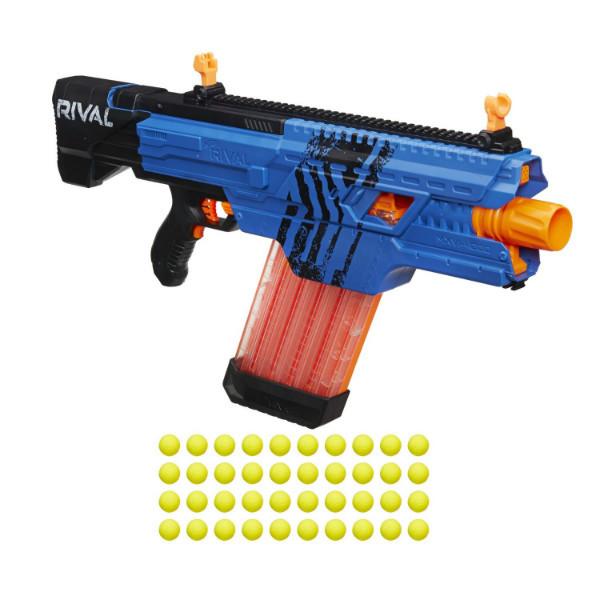 Nerf Бластер Нерф Райвал Хаос синий Rival khaos MXVI-4000 blaster blue