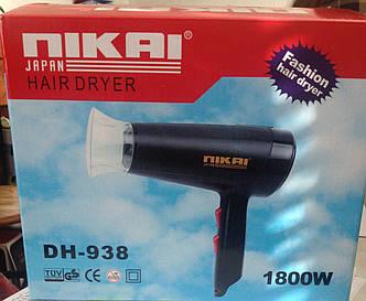 Бытовой фен для волос Nikai DH 938 код 938, фото 2