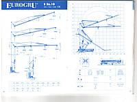 Аренда башенный кран Eurogru 3610 самомонтируемый