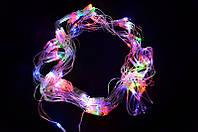 Сетка светодиодная-120-led, мульти