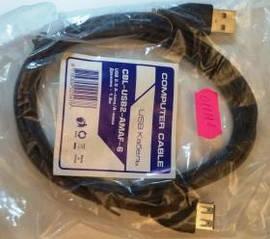 Подовжувач-подовжувач USB довжина 1.8 м, Gembird CBL-USB2-AMAF-6