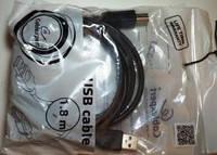 Кабель USB 2.0 AM/BM 1.8m Cablexpert (CCP-USB2-AMBM-6) 1.8 м