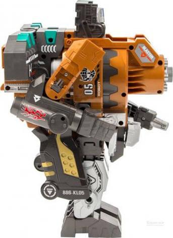 Робот-трансформер с мягкими пулями INDIGO SB202, фото 2