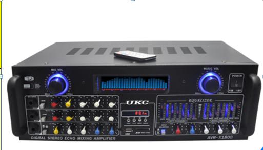 Усилитель  AMP 1800, фото 2