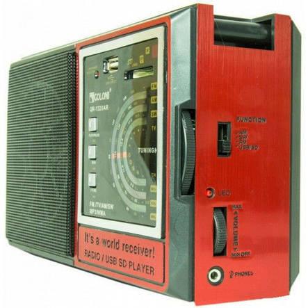Радиоприемник Колонка MP3 USB Golon RX 132, фото 2