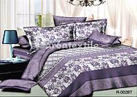 """3D Комплект постельного белья двуспального размера """"Ranforce"""" розочки"""