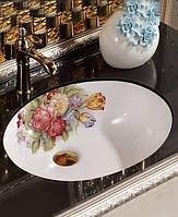 Раковина Art Design Annie 002 с цветами