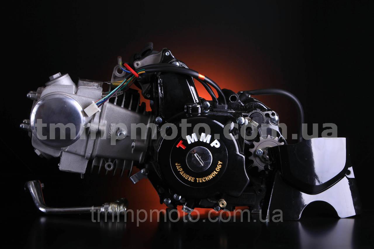 Двигатель ТММР Racing АЛЬФА Дельта-125см3 54мм алюминиевый цилиндр механика чёрный NEW
